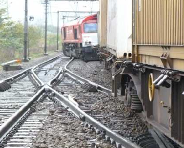 Treinongeval - accident de train
